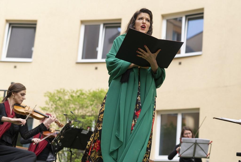 Hotel Zeitgeist concierto ópera ventana