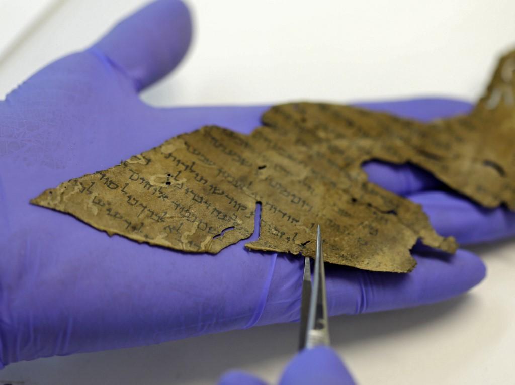 Qumrán Israel textos ADN
