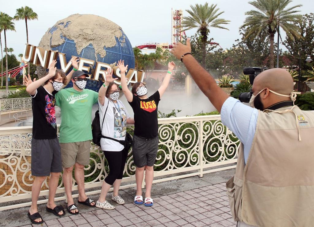 Universal Studios Orlando reapertura
