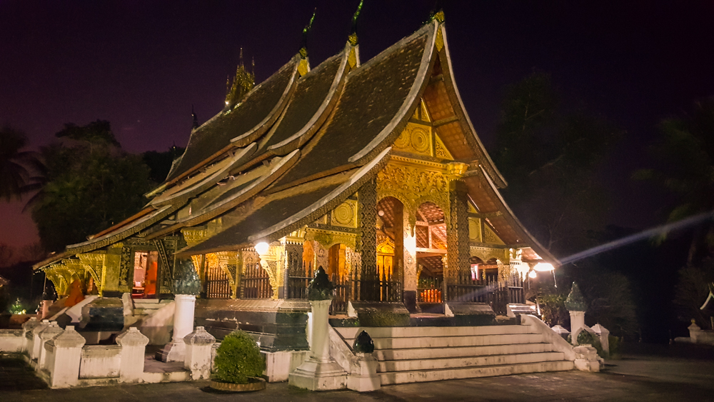 templo budista Luang Prabang.