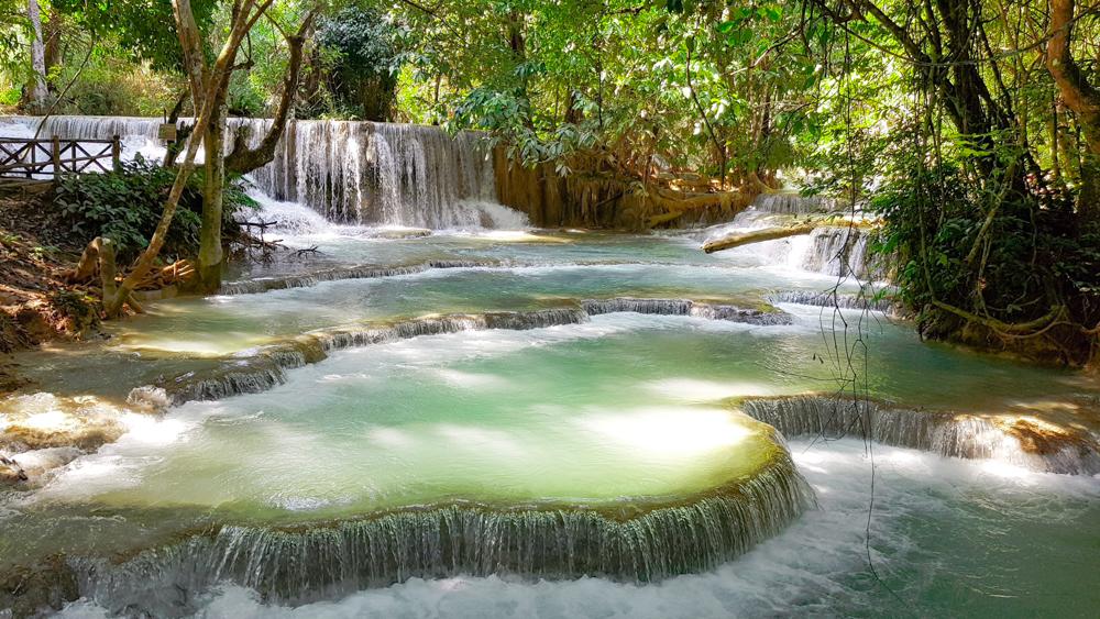 cascadas de Tat Kuang Luang Prabang