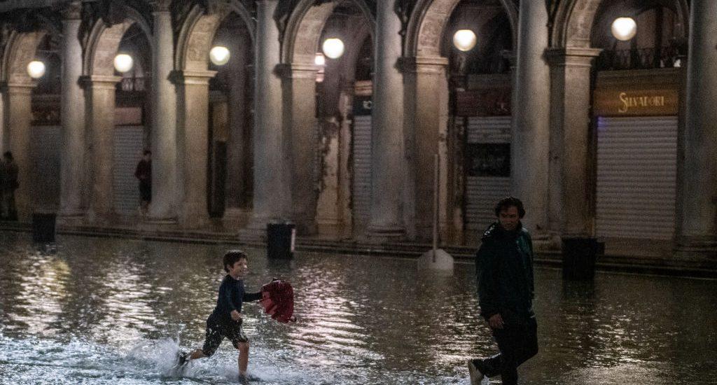 Marea alta en Venecia