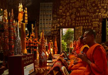 Luang Prabang templos Laos buda