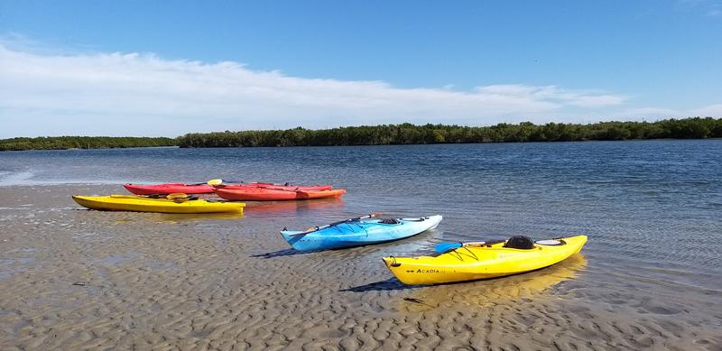kayak laguna Naturaleza