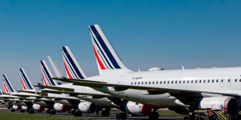Aire France aviones avión