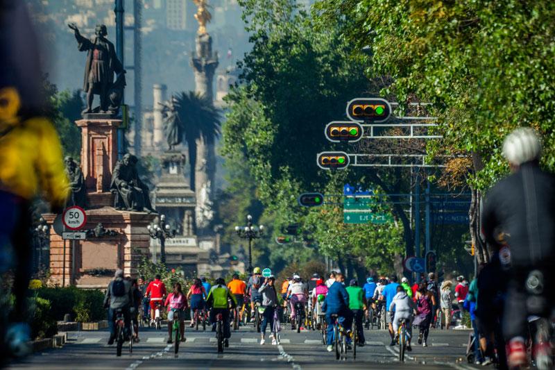 bicicleta ciclistas Ciudad de México
