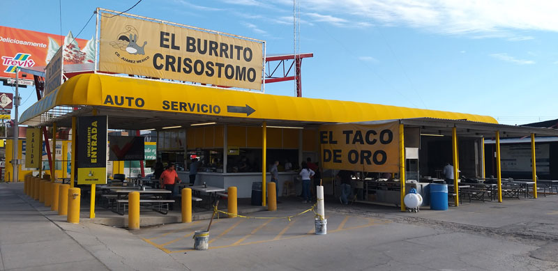 El Burrito de Crisostomo Chihuahua