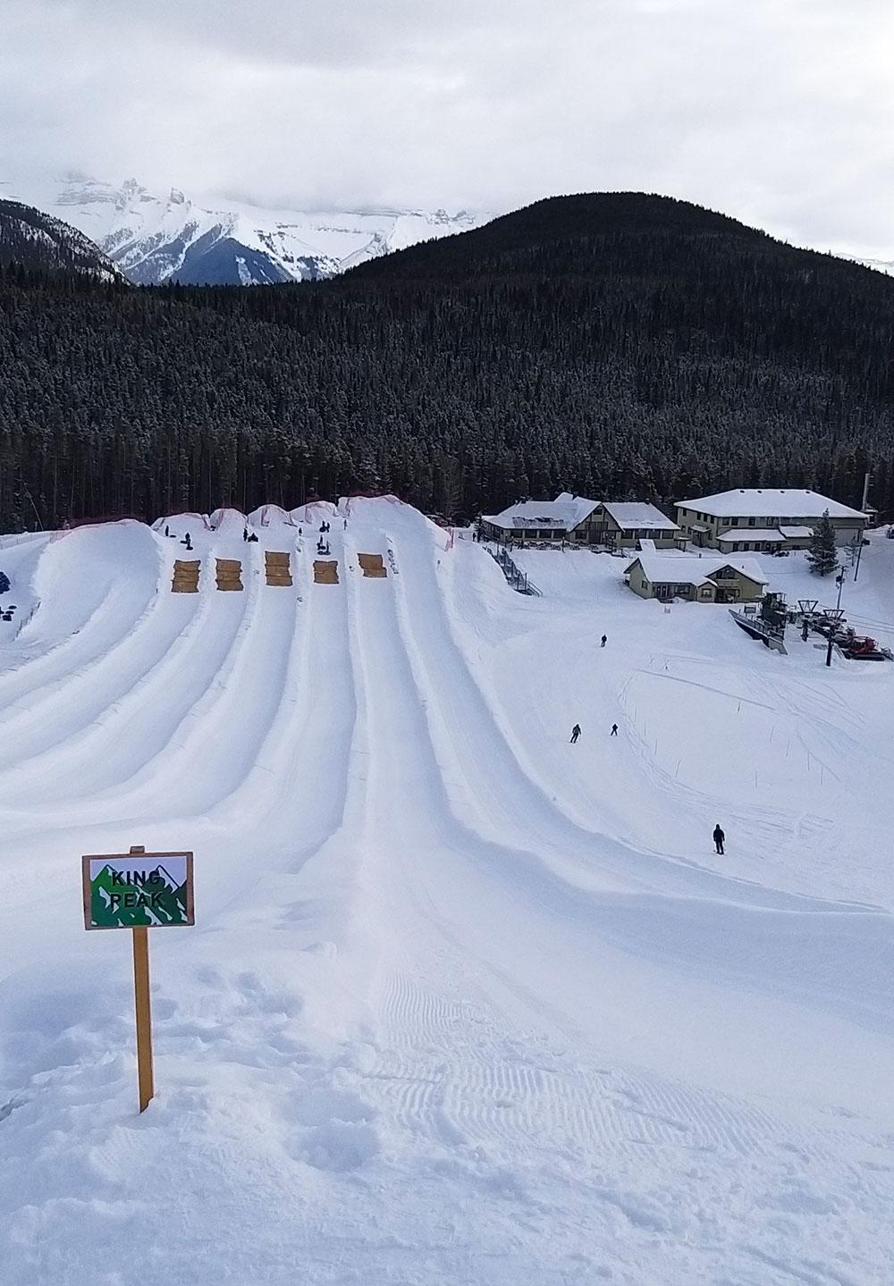 montañas dona invierno nieve Canadá