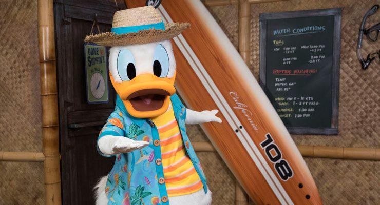 Pato Donald Disneyland