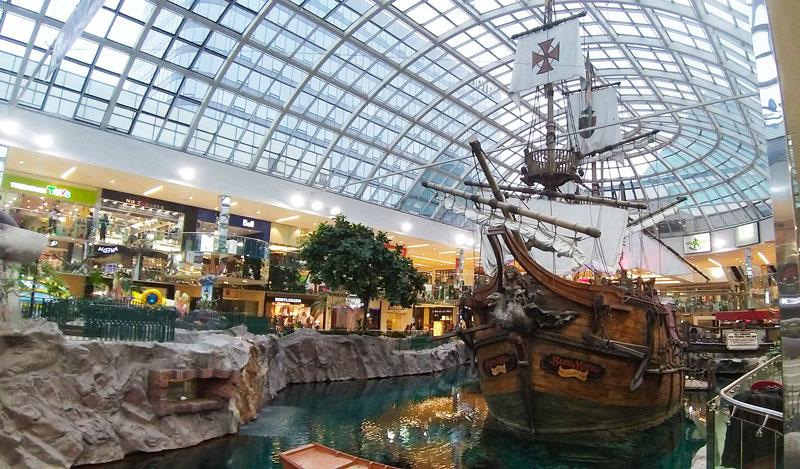 West Edmonton Mall Alberta Canadá centro comercial