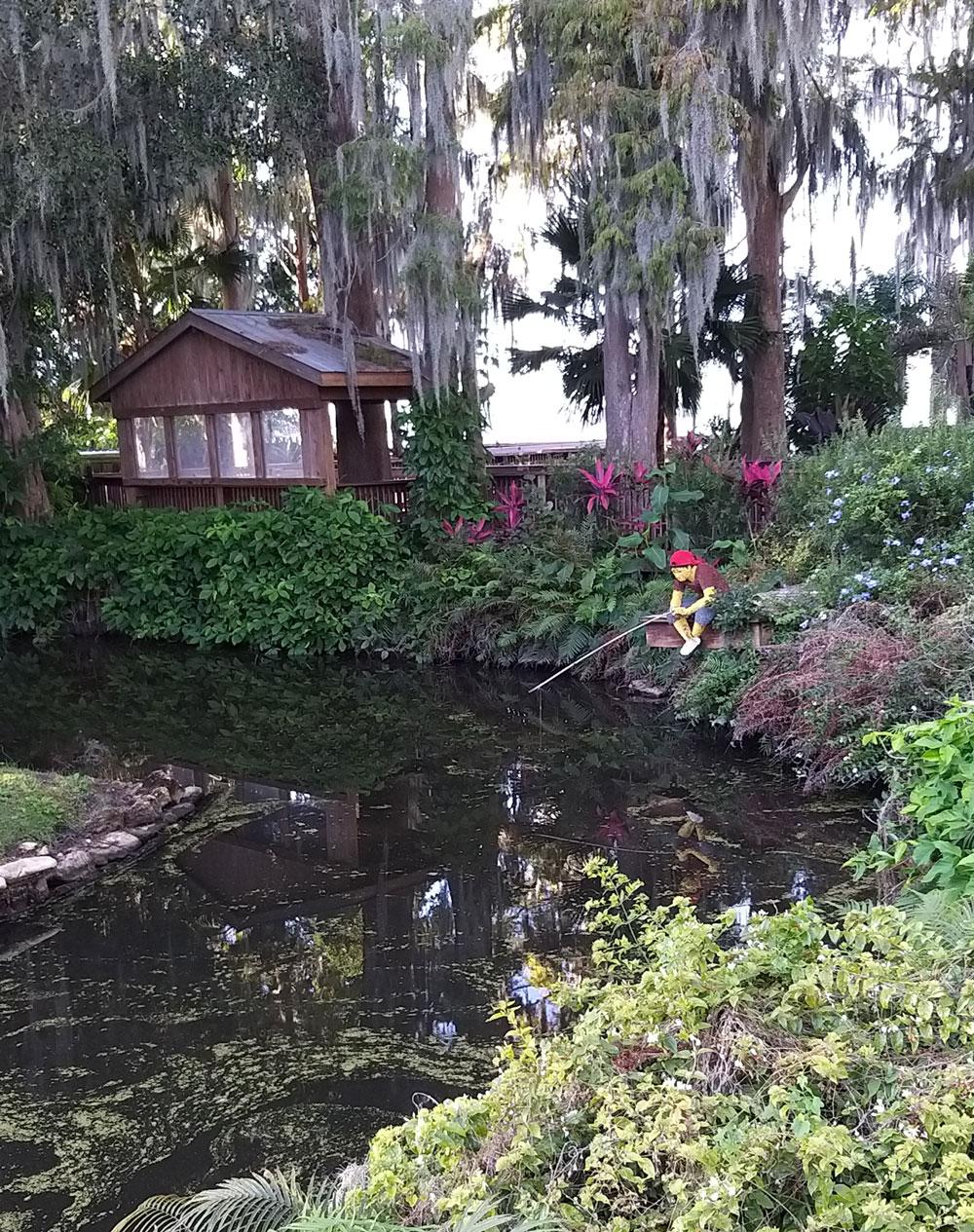hotel de Legoland Lego Florida áreas verdes