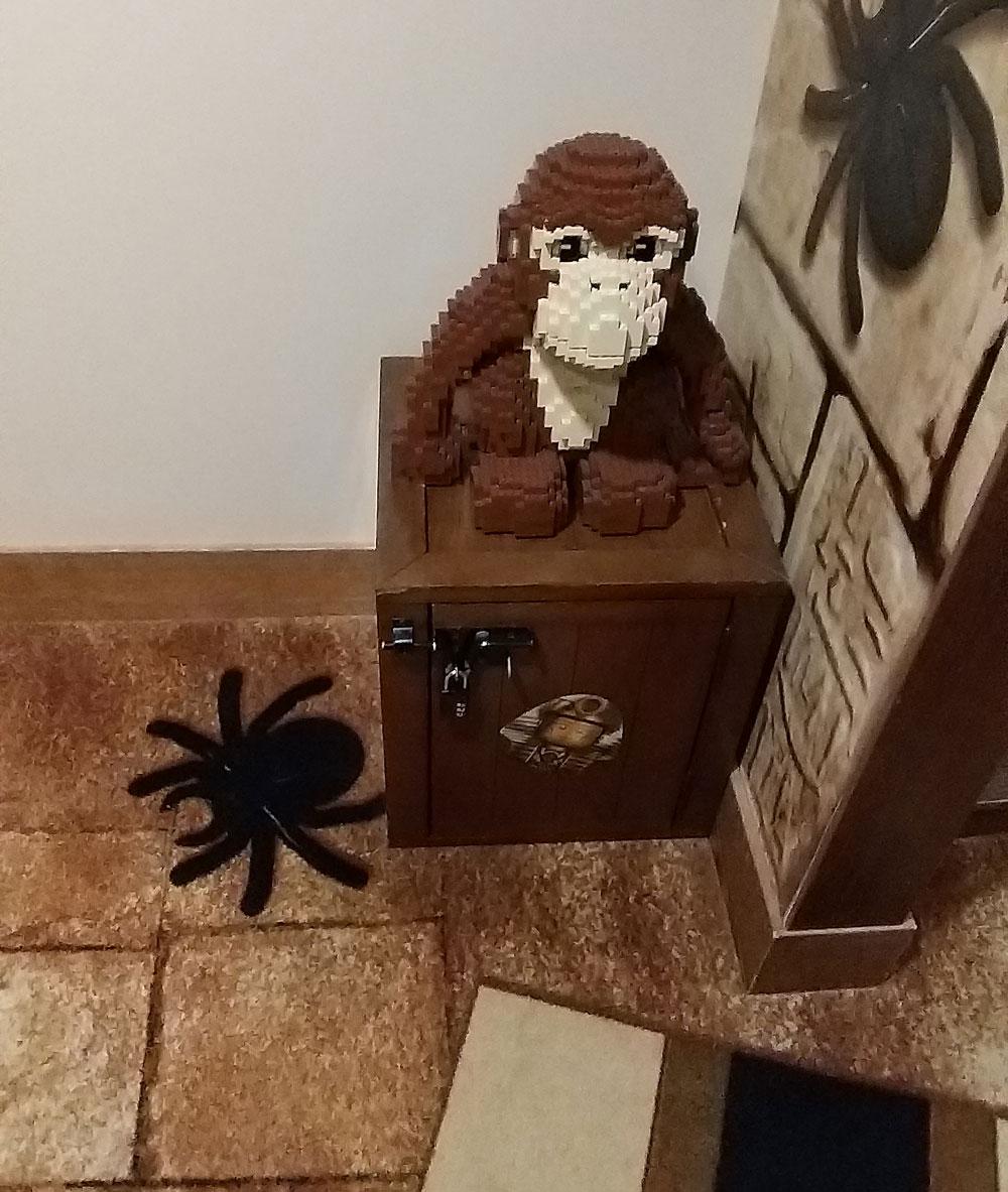 caja regalo lego hotel