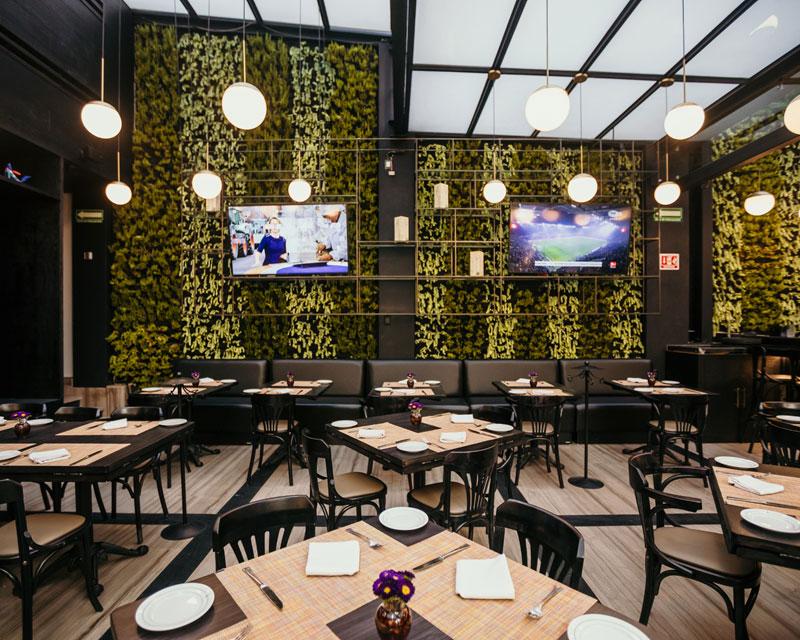 A la Parrilla Hotel Marquis restaurante Ciudad de México
