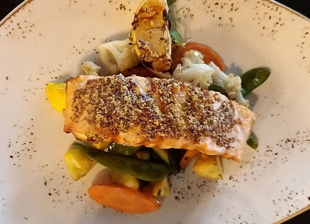 salmón restaurante Gardela