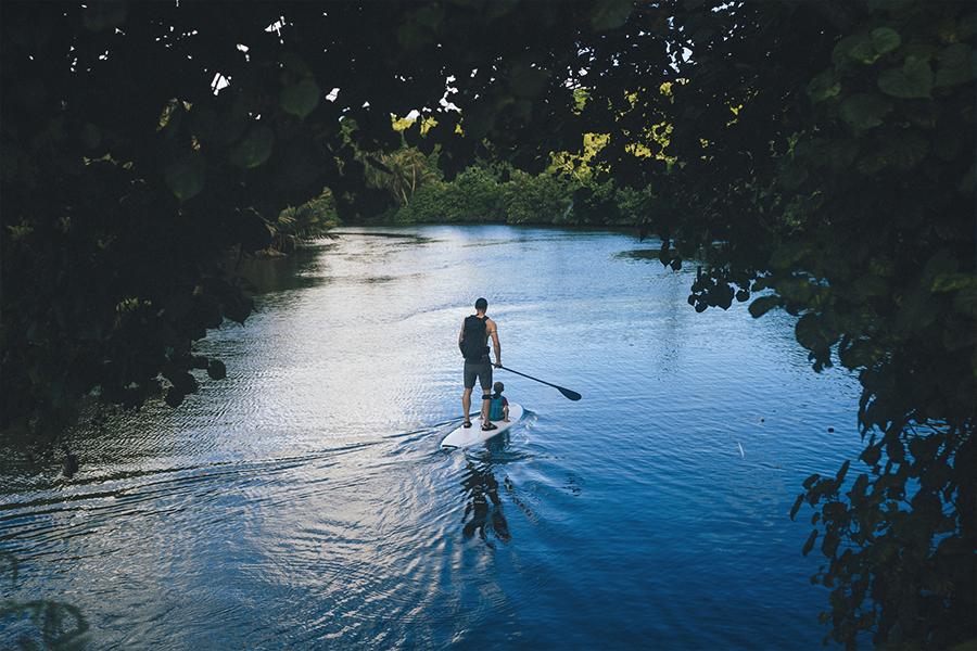 foto guam estados unidos islas marianas paddleboard