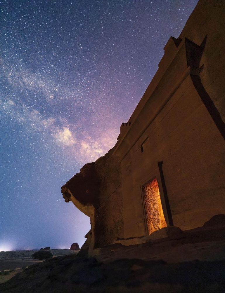 Hegra se abre al turismo internacional