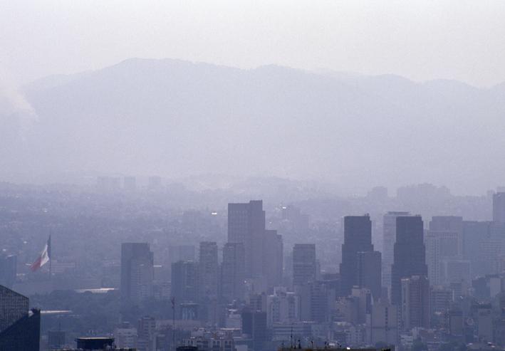 contaminación por partículas