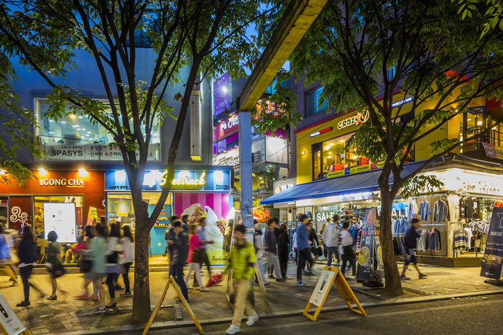 Hongdae Corea del Sur