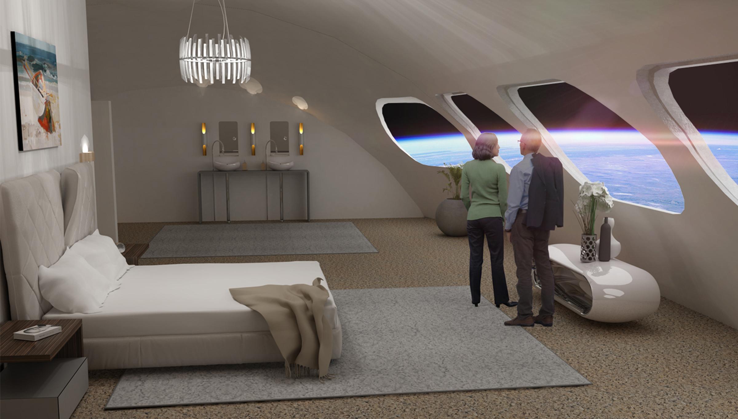 primer hotel espacial