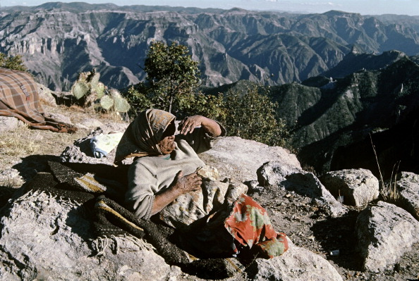 habitante de la sierra tarahumara en chihuahua