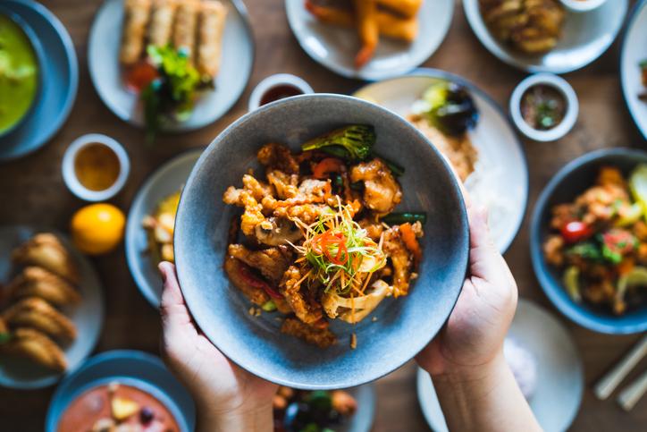 comida tipica de tailandia