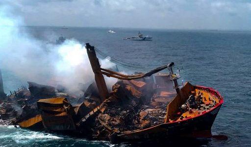buque de Sri Lanka
