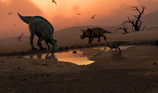 guardería de dinosaurios
