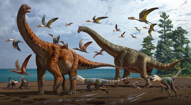 saurópodos China