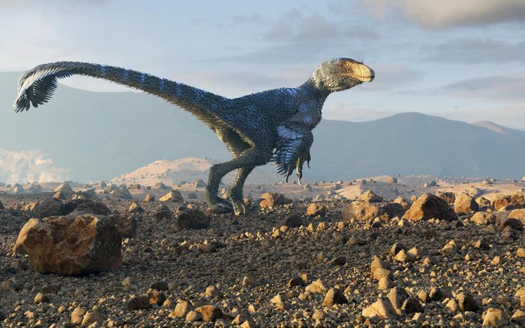 dinosaurios plumas