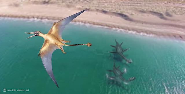 dragón volador