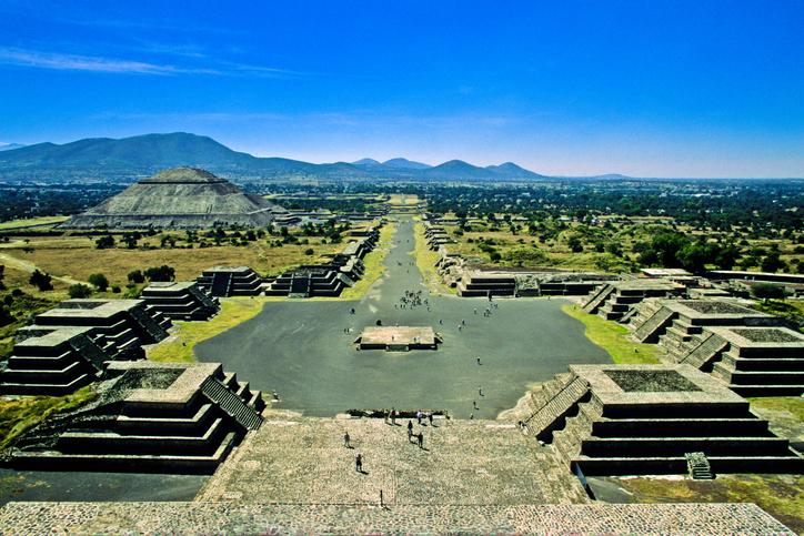 teotihuacan la forma en que altero el paisaje cuando fue construida