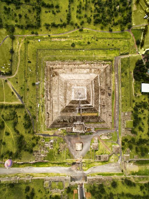 trazado de ciudad teotihuacan