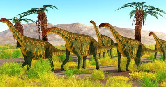 dinosaurios manada