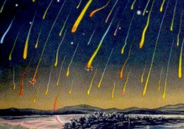 leónidas tormenta de meteoros