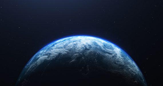 brillo de la Tierra
