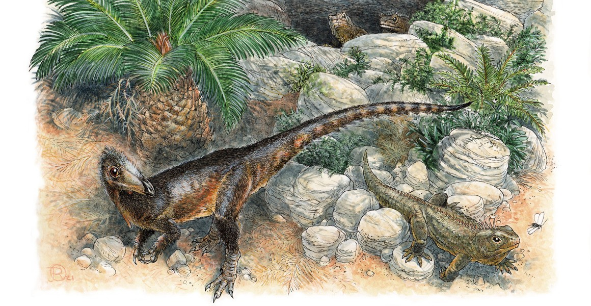 pendraig milnerae dinosaurio terópodo