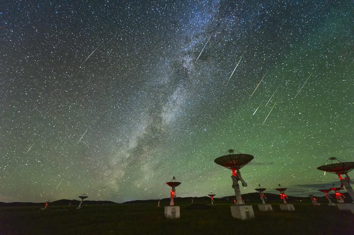 radiotelescopio señal vía láctea
